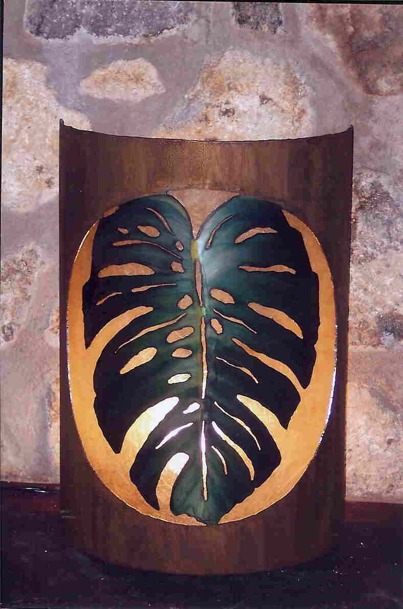 Philodendron Sconce